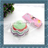 OPP bag packing petal baking liner,colorful paper cupcake wrap,greaseproof paper cupcake cases