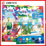 Colorful Creative Stationery Acrylic DIY Painting by Numbers for Kids