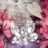Wedding Decor Choice Crystal ornaments Butterfly Favor