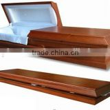concord cremation wood casket