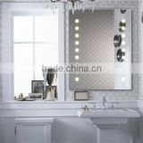 Mirror Bathroom Cosmetic Mirror Standing Dressing Mirror With LED Light For Home For Hotel