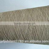 70%cotton 30%linen blend yarn raw white for weaving 21s 32s