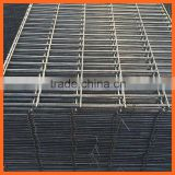 Construction Materials Ribbed Bar Concrete Reinforcing Fence , Deformed Steel Rebar Welded Mesh