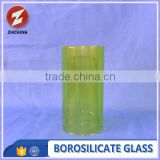 new design tempered pyrex colored glass tube
