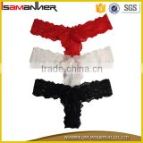 Transparent lace women sexy lingerie t back sexy ladies g string panties                                                                                                         Supplier's Choice