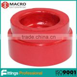 UL/ FM Grooved fittings cap for Ductile iron pipe