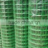 Galvaized/PVC Coated Welded Wire Mesh roll and panel With ISO9001 and TUV Certification (Factory)