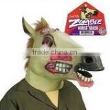 New Style Latex Halloween Scary Zombie Horse Head mask