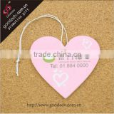Beautiful heart-shaped design car or office air freshener