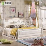 Wholesale White Bedroom Set English Country Style Furniture