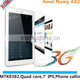 KOMAY 7 inch MT8312 Dual Core Ainol ax2 with Android 4.2.2 WIFI Bluetooth GPS WCDMA 3G Tablet pc Ainol AX2
