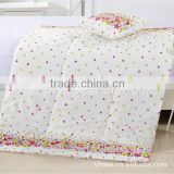 wholesale good quality convenient comfortable cotton flower printing foldable pillow blanket                                                                         Quality Choice