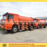 All wheel drive sewage tanker suction 4x4 off road truck for sale