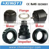 china fan accessories/ motor/ flange impeller, fan parts