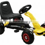 Racing Pedal Go-Kart w/ Pneumatic Tire