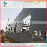 galvanized or painted h beam steel structures