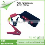 Factory Direct CE FCC RoHS Certificate And Jump Start Type 12V 18000mAh Portable Car Battery Charger EPS Jump Starter
