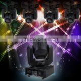 Fast Shipping LED 30W Spots Light DM Stage Spot Moving 8/12 Channels 7 Colors Mini LED Moving Head Disco KTV Stage Pattern Lamp