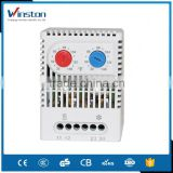 ZR 011 Adjustable Cooling and Heating Electric Din Rail Temperature Controller Dual Digital Thermostat with CE