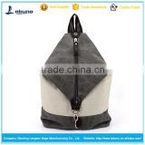 2016 fashion for girls and boys brand school wholesale cheap price nylon drawstring backpack