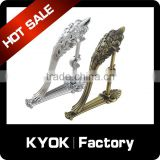 KYOK architectural garden hardware hooks brackets,home decoration wholesale curtain accessories SIZE: 19Mm - QTY (2)