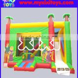 backyard inflatable bouner castle slide combo on sale
