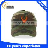 Custom Camo Short Brim Baseball Cap Wholesale Hats And Caps Design Your Own