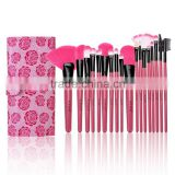 New 18pcs Fashion Professional Soft Cosmetic Tool Make up Brush Set Kit With Pouch AM000191
