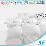 Anti-bacterial warm white duck down feather duvet
