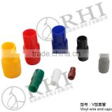 China cheap price pvc wire insulator cable lug end cap vinyl wire end cap