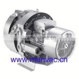 7.5kw central vacuum system three stage air blower