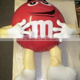 advertising promotion inflatable chocolate bean