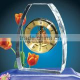 Luxury Desktop Large Wall Clock Made of Crystal China New Products                                                                         Quality Choice