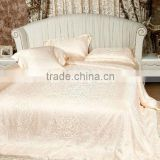 4 pcs set silk sheet set