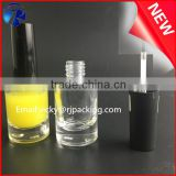 Custom 15ml Safety nail polish glass bottle with brush and cap                                                                                                         Supplier's Choice