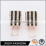 Latest artificial earrings fashion rhinestone earrings jewellery earrings                                                                                                         Supplier's Choice