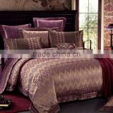 2015 Classic Modern Bedroom Sets Jacquard Bedding Sets 4PCS Bed Sheet Quilt Cover Pillow Case