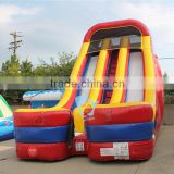 children pvc tarpaulin inflatable pool slide with climbing wall                                                                         Quality Choice