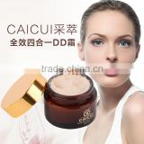 CAICUI Brand DD cream hot sale in Korean whitening high cover foundation cream