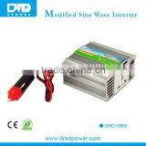 12v 220v/230v/240v 150w modified sine wave hybrid inverter off grid car power inverter For tablet computer