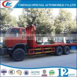 Tri-axle 20 Feet Container Trailer,40ft Flat Bed Trailer,40ft Flatbed Semi Trailers For Sale