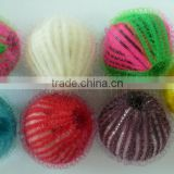 Export plastic cleaning ball | magic washing hair removal nylon washing ball