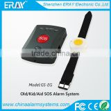wireless SOS calling alarm system hotel pager