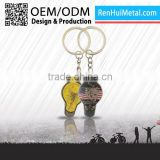 China Wholesale OEM brand custom boxing glove keychain