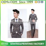 Bulk Slim Fit One Button Single Breasted Plus Size Business Suit Formal Pants Suit in Guangzhou
