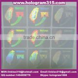Advanced hologram transparentfor business cards, clear transparent hologram laminated