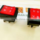 Start switch buggy /chzjcz/CE ROHS waterproof membrane switch,black pastic 2 or 3 position rotary switch