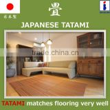 Stylish and Stain-resistant tatami floor with resistance to mold and mites made in Japan
