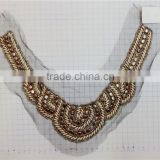 New Arrival Beaded Neckline Designs Collar