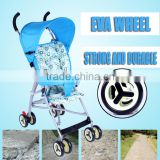 High quality baby stroller cheap price with different colors and cute cartoon